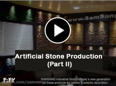"""Nano Cement Plast "" Artificial Stone Production (Part II)"